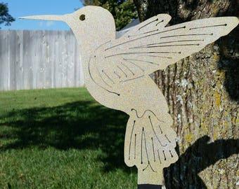 "Hummingbird Yard Decoration (36"")"