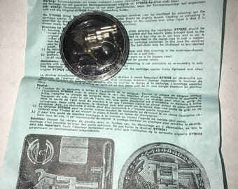Rare Xythos miniature cap gun andres dworsky mint vintage