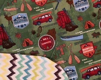 Receiving Blanket/ Camping Blanket/ Swaddle Blanket/ Outdoor Blanket/ Baby Blanket/ Camping Swaddle Blanket