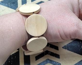 Wooden bracelet, babyproof bracelet, teething bracelet, fiddling bracelet