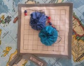 Go strategy game . Begginers board and counters