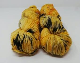 Spicy Pumpkin Latte - DK Desire hand dyed yarn – Superwash 100% Merino