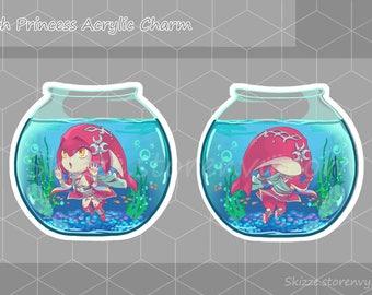 Pet Fish Princess Charm