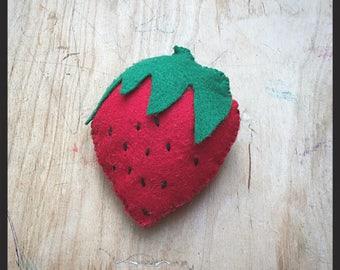 Pretend Play Food: Strawberry