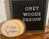 You Are My Sunshine Wood Slice | Wood Sign