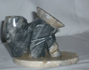 Mexican carved stone figurine