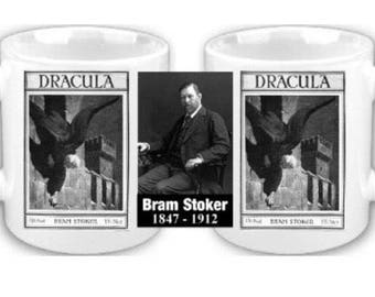 Bram Stoker Dracula coffee mug