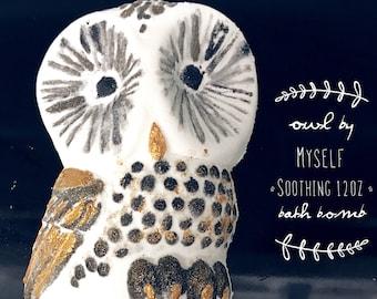 Owl by myself 12 oz soothing bath bomb