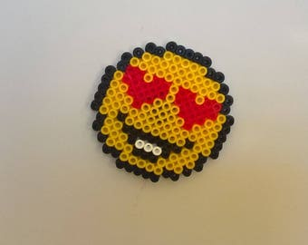 Magnet emoticon fuse beads