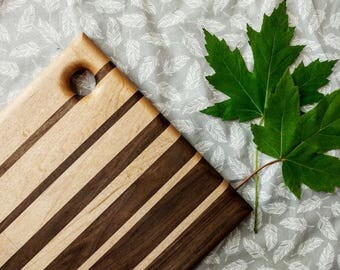Wooden Handcrafted Cutting Board / Cheeseboard / Charcuterie / Serving tray / Breadboard