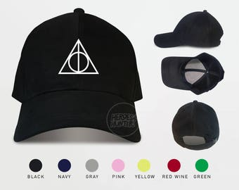 Deathly Hallows Baseball Caps Harry Potter Deathly Hallows Caps