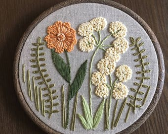 Hand Embroidery - Flowers