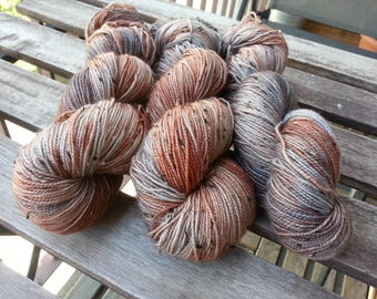 The China - Hand dyed sock yarn