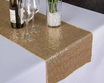 14 X 108 In. Sequin Table Runner