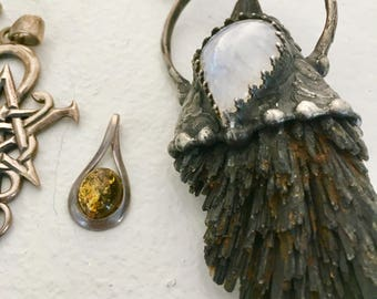Witchy sterling jewelry lot