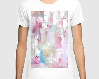 Women's Tshirt, abstract art Tshirt in various colors, FREE Shipping !