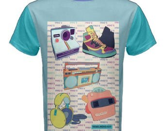80s retro vintage shirt 80s kid 3 sizes to choose from