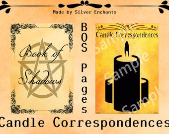 BOS Pages - Candle Correspondences