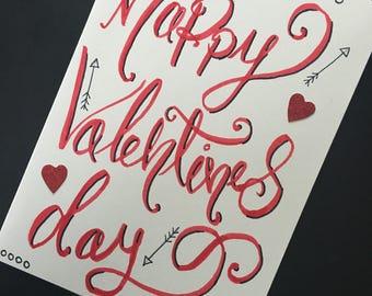 Valentine's Day handmade card