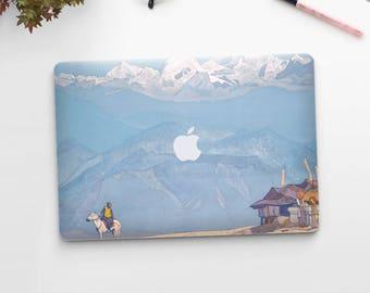 "Nicolas Roerich, ""Remember"".  Macbook Pro 15 skin, Macbook Pro 13 skin, Macbook 12 skin. Macbook Pro skin. Macbook Air skin."
