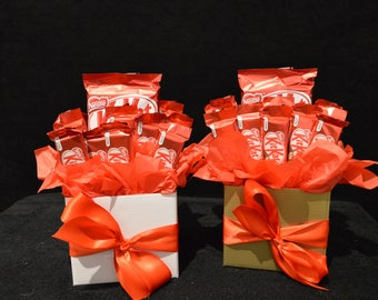 Chocolate Kit Kat Block Bouquet