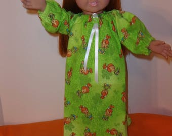 18 Inch Doll Cloths, Handmade- nightgown and shorts. Fits all 18 Inch Dolls. Free shipping!