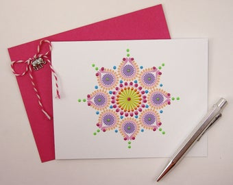 Note Card Set - Set of 4  Note Cards with Envelopes
