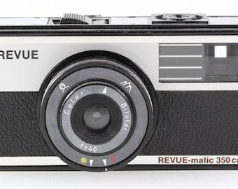 Revuematic Revue matic 350ca 350 ca Sucherkamera - Color Bilotar f=40 Optik