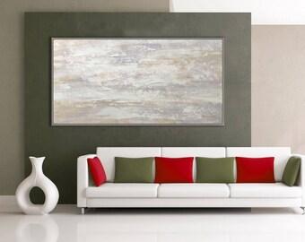 "Minimalist, Wall Decor Art, Abstract Painting, Modern Art, Textured Decor Art, 24x48""/60x120cm"