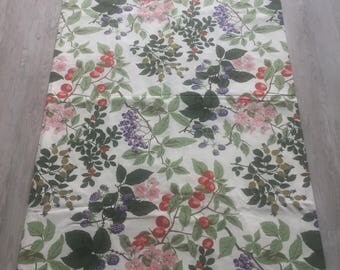 Liberty of London Fabric/Hedgerow/Upholstery Fabrics/Sewing/Crafting/vintage