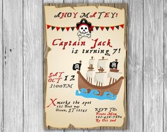 Pirate Invitation (Digital)