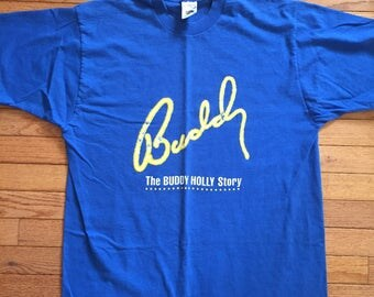 Vintage buddy holly tee