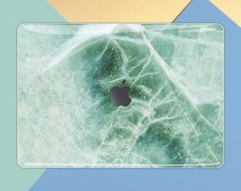 Marble MacBook Skin | MacBook Cover Green Marble MacBook Pro 13 inch Skin MacBook Sticker MacBook Decal Air 13 inch Sticker Retina 15 MS 005
