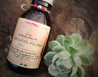Massage Oil - 'Mama + Papa Massage Oil' sensual massage oil.