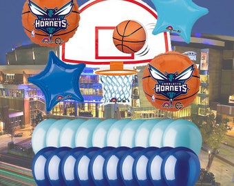 Charlotte Hornets 25 Piece Balloon Set