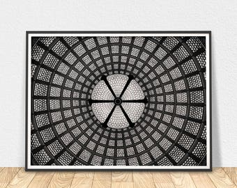 Abstract Ornament - Black And White Art, Abstract Art Print, Wall Art, Photo Print, Ornament Photo Print, Printable Art, Ornament Print