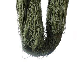 3/8 Italian Cotton Weaving Yarn ~ Pine