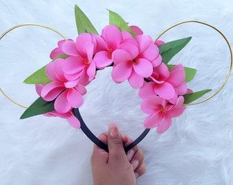 Moana Wire Ears - Floral Moana Ears