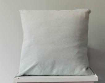 Aqua Blue Dip Dye Ombre Cushion Cover