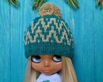 Blythe Hat, Blythe Clothes, Blythe Clothing, Blythe Outfit, Blythe Crochet, Blythe Winter Outfit, Blythe, Blythe Custom, Blythe Beanie