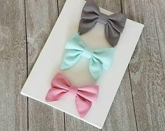 Baby bow, baby sailor bow