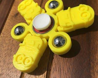 Custom Minion Hand Ball Spinner Fidget Toy EDC w/ ABEC 9 Bearing