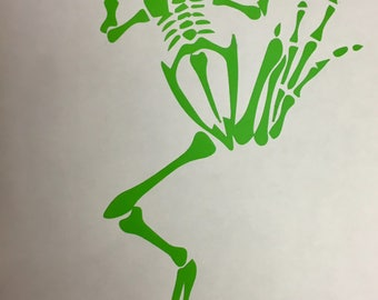 Bonefrog Decal