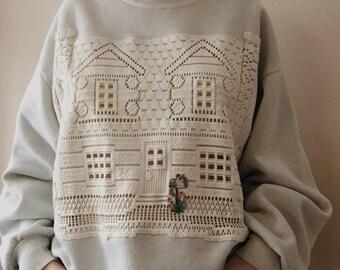 Grandma Doily Sweater