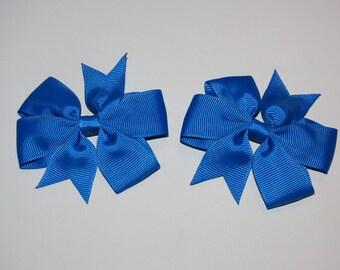 Colored Pinwheel Bows