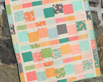 Jumping Jacks Quilt Pattern by Sweet Jane's #089