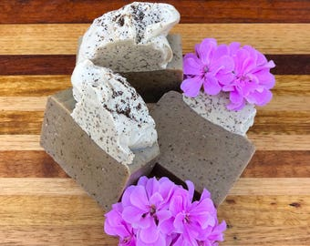 Handmade natural soap - coffee