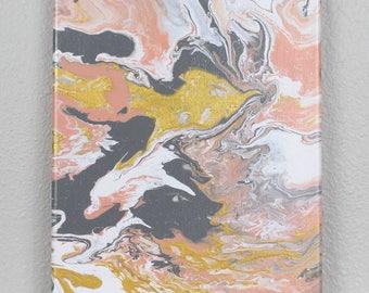 """Acrylic Fluid Painting """"Aladfar"""" 8""""x10"""""""