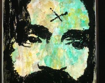Charles Manson ATWA Watercolor portrait