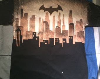 Dark Knight City - Bleached Shirt